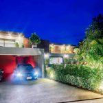 Chiang Mai Private Pool Villa | Garage Evening Picture