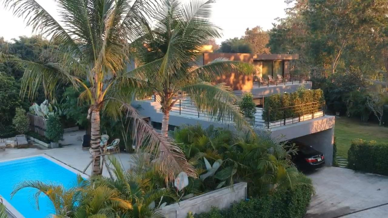 Chiang Mai Luxury Private Pool Villa Drone Image